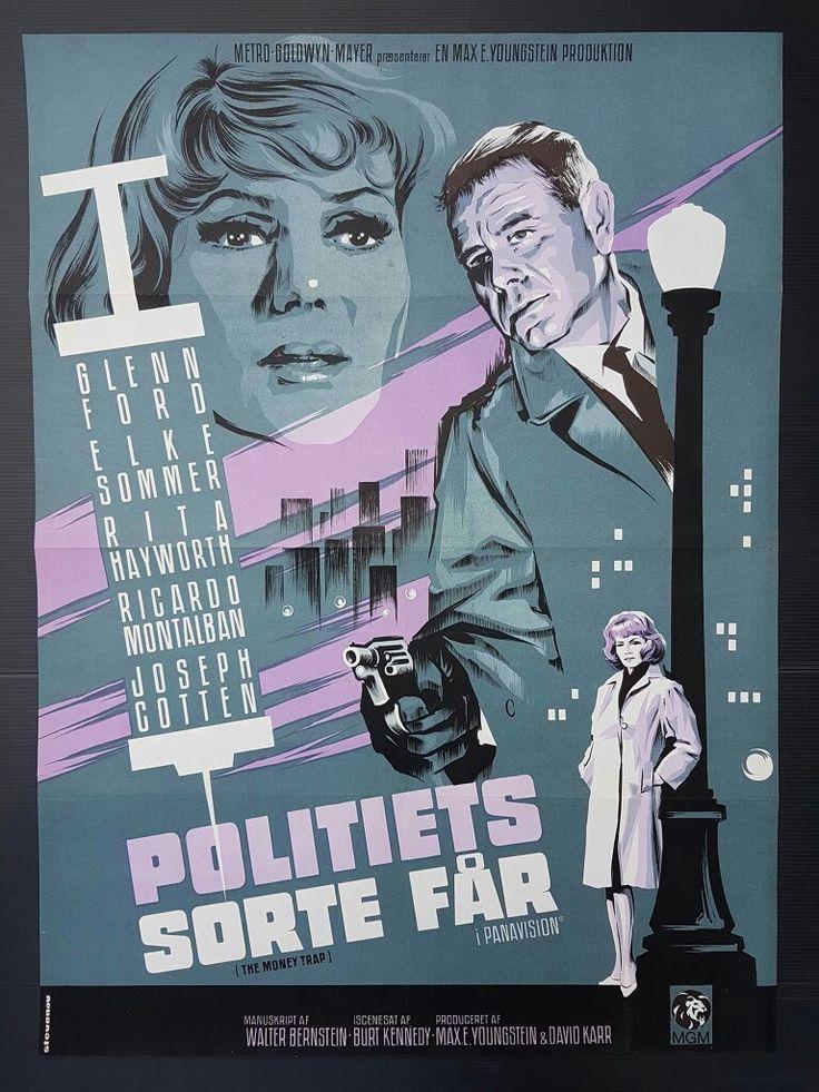 The Money Trap | Danish Movie Poster, 1965