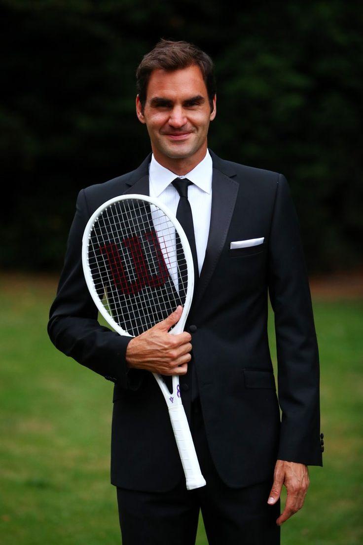 Roger Federer - Bal de clôture - Wimbledon 2017 - #GQSlam @RogerFederer