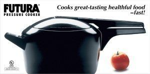 Futura by Hawkins Hard Anodized 5.0 Litre Pressure Cooker from Hawkins // http://cookersreview.us/product/futura-by-hawkins-hard-anodized-5-0-litre-pressure-cooker-from-hawkins/  #cooker #pressure #electric