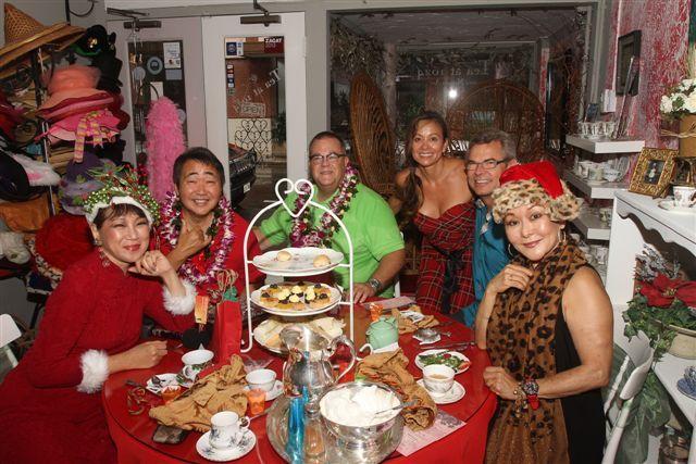 A Christmas Tea with Friends