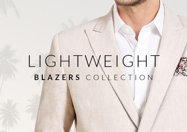 Best Blazers for Spring and Summer. Feel comfy in warm weather: http://www.tailor4less.com/en-us/men/collections/lightweight-blazers
