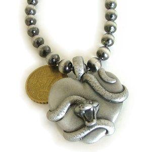 Aparte ketting slangen hart hanger -SMADA® Trading