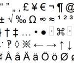 Lista de caracteres especiales online, para copiar y pegar