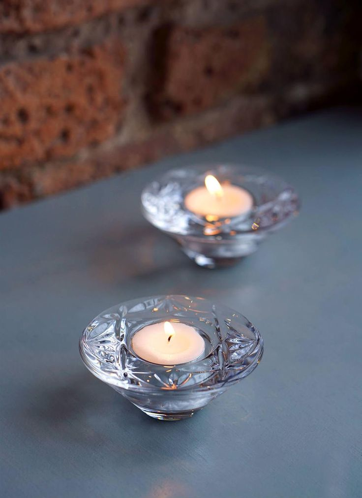 Waterford Crystal Tealight Votives: The clarity of theseWaterford crystaltealight votive holders combined with the refraction of light through the diamond cuts create a stunning look for your home. #WaterfordCrystal #Crystal #Votives #candles #Sale #SpecialOffer #Offer #Reduced #Lighting #HomeAccessories #GiftIdeas #Candle #IrishDesign #HomeDecor