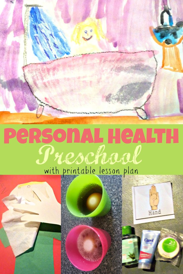 Teach your preschooler how to keep their bodies clean and understand their emotions with this fun personal health preschool theme week
