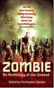 Zombie af Christopher Golden, ISBN 9780749953379