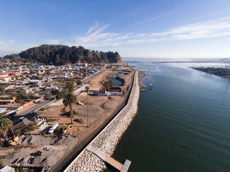 Post-tsunami sustainable reconstruction plan of Constitución, 2010 – ongoing. Photograph by Felipe Diaz