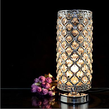 Crystal Silver Table Lamps - USD $ 50.99