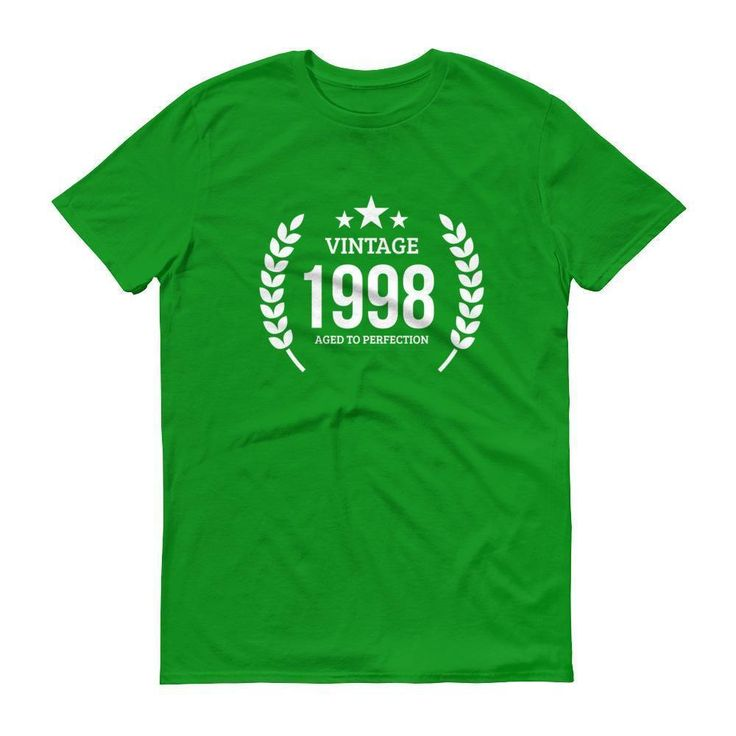 Men's Vintage 1998 Aged to perfection T-shirt - 1998 birthday gift ideas - 19th birthday