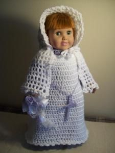 "FALLing in love -18"" doll - Free Original Patterns - Crochetville"
