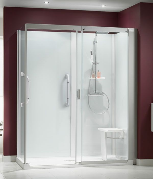 The kinemagic is a high quality all in one shower cubicle it 39 s designed to fit in exactly the - Shower cubicles for small spaces ...