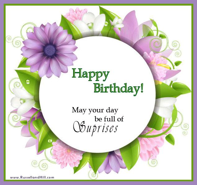 Pin By Kathleen Wallyn On Birthday Wishes..