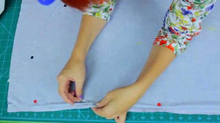 Zrób to sama - Jak uszyć sukienkę maxi o kroju kimono z dzianiny [Coza S...