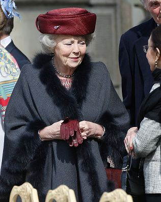 Princess Beatrix of the Netherlands is seen at the celebrations of the Swedish Armed Forces for the 70th birthday of King Carl Gustaf of Sweden on April 30, 2016 in Stockholm, Sweden.