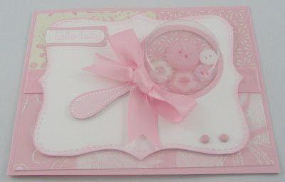 baby shower shaker card