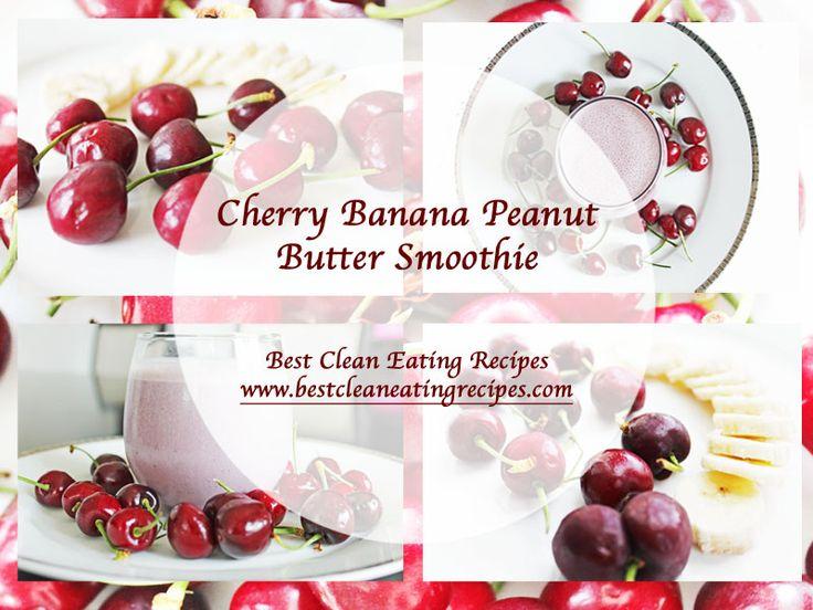 Healthy Dessert – Cherry Banana Peanut Butter Smoothie Recipe | Healthy Weight…