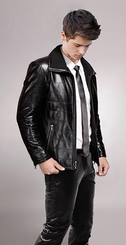 Top 4 Events To Wear A Tie Clothes Pinterest Leather Jackets