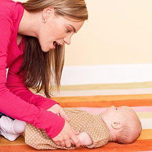 Activities for Language Development: 0-3 Months: More Activities for 0-3 Month Babies (via Parents.com)