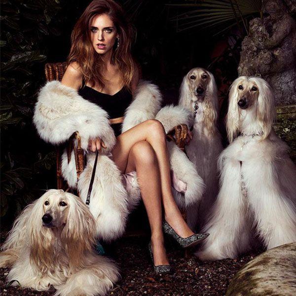 Chiara Ferragni na capa da Vogue
