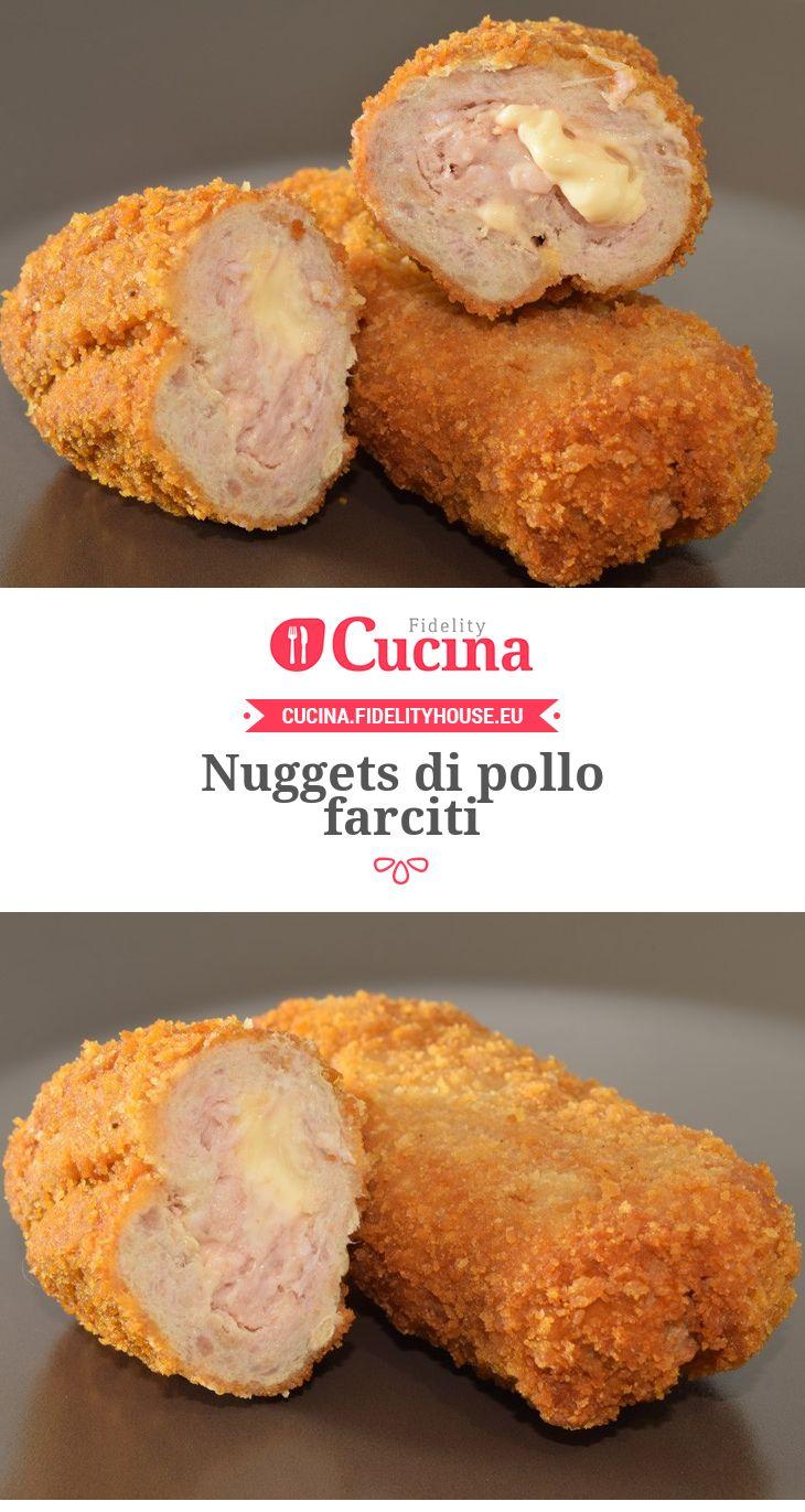 Nuggets di pollo farciti