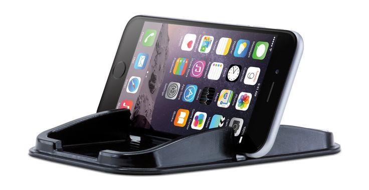 Houd je smartphone, zonnebril, GPS of andere persoonlijke voorwerpen in hardbereik met deze unieke Sticky Pad phone holder! Ideaal te gebruiken op het dashboard van je auto, maar ook thuis of op kantoor.
