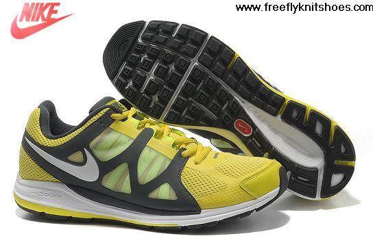 Cheap Nike Zoom Elite 5 Men Running Shoes Electrolime Volt Anthracite White Fashion Shoes Shop