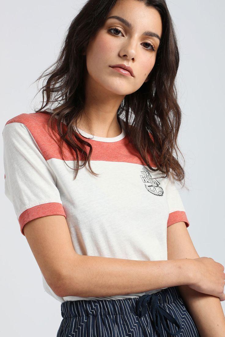 Safe Harbor Ringer T-Shirt | RVCA Europe