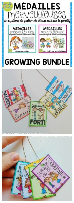 Brag tags EN FRANÇAIS - les médailles de fierté - Finally a growing bundle of brag tags in French! A great classroom management system centred around teaching, recognizing, and celebrating positive behaviours and character traits. Grab this growing bundle and save $$$ - you will receive all future sets FREE!