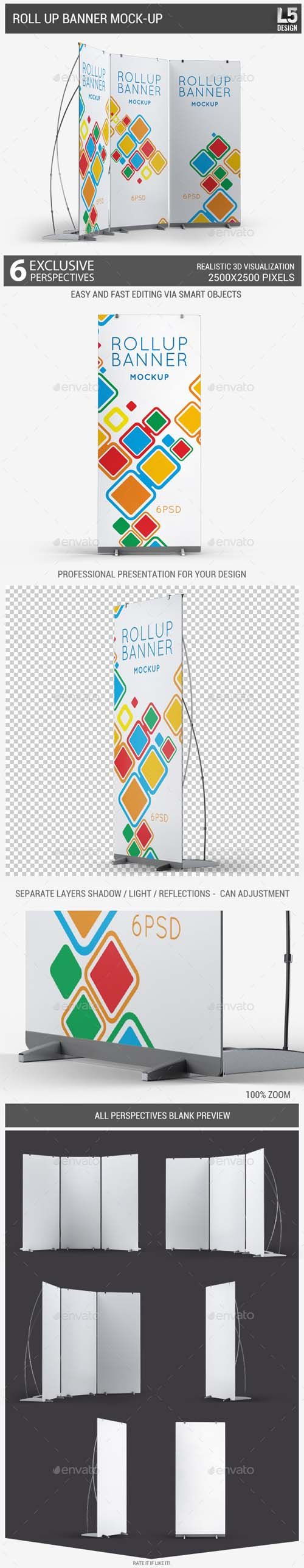 PSD Mock-Up - Roll Up Banner