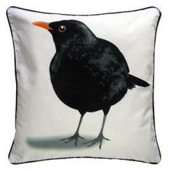 Kleurrijke kussens met vogel illustraties | MYRTE