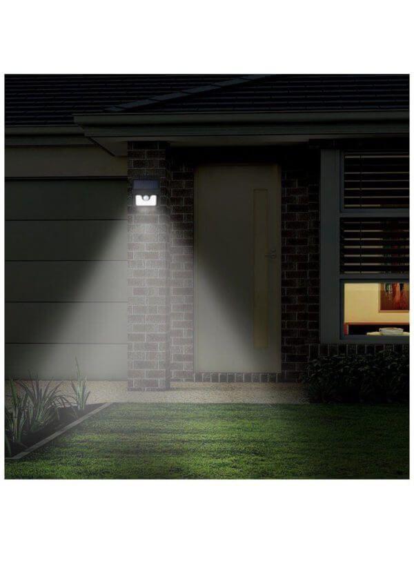 Hardoll 8 Led Solar Motion Sensor Light For Home 7