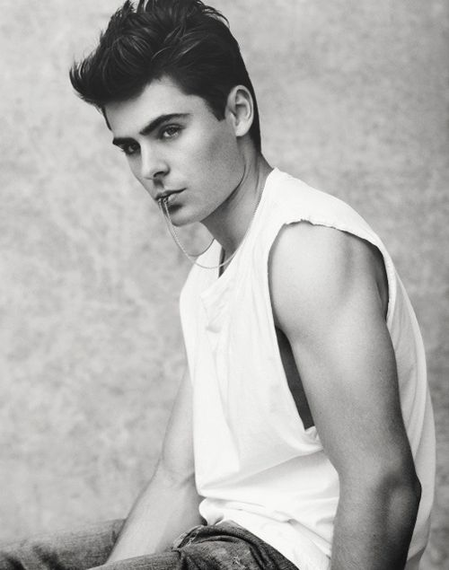Zac Effron well because he's a sweet, hot, guy.