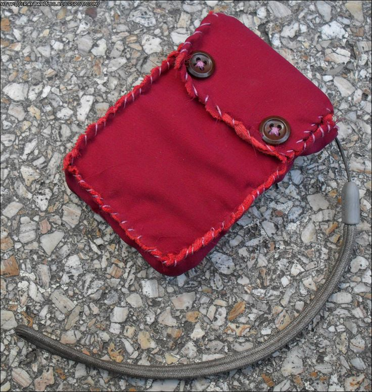 Pink Camera Pouch
