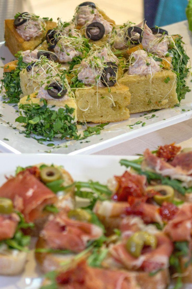 Spanish snacks at Laoni la Fiesta event  http://www.budapestwithus.hu/laoni-fiesta/