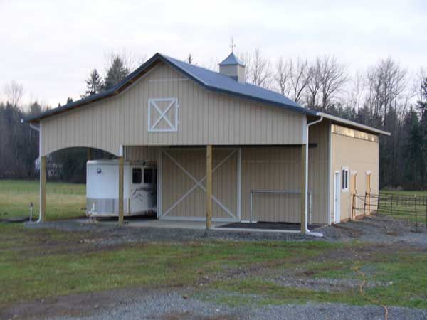 245 best other farm buildings images on pinterest horse for Horse pole barn