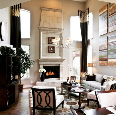 88 best Style By Space: Living Room images on Pinterest   Progress ...