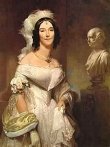 First Lady Angelica Van Buren