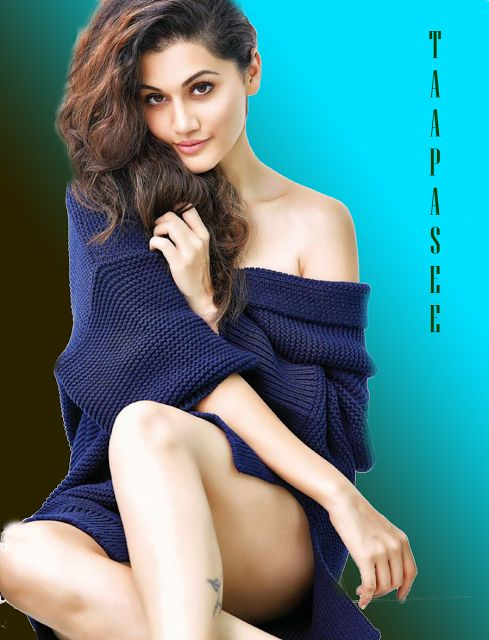 Winter has come and sweaters are the new trend, Would you wear it like Taapasee Pannu - Bollywood Reporter