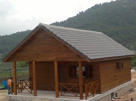 325 best images about casas de madera on pinterest - Casas de madera en espana ...