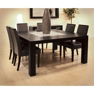 Extended Families Enjoy Square Dining Table For Square Dining Table For 8  Granita ~ Dining Room Inspiration