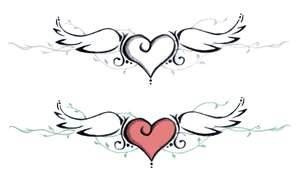 heart with wings                                                                                                                                                                                 More