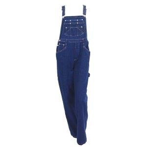 Women's EGLE jeans denim bib overalls