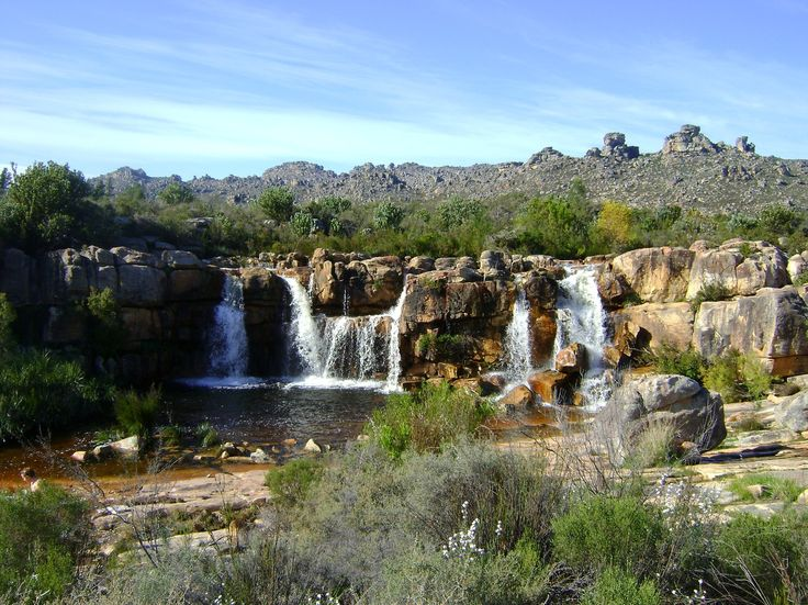 Beaverlac Waterfalls - Cederberg mountains Western Cape South Africa