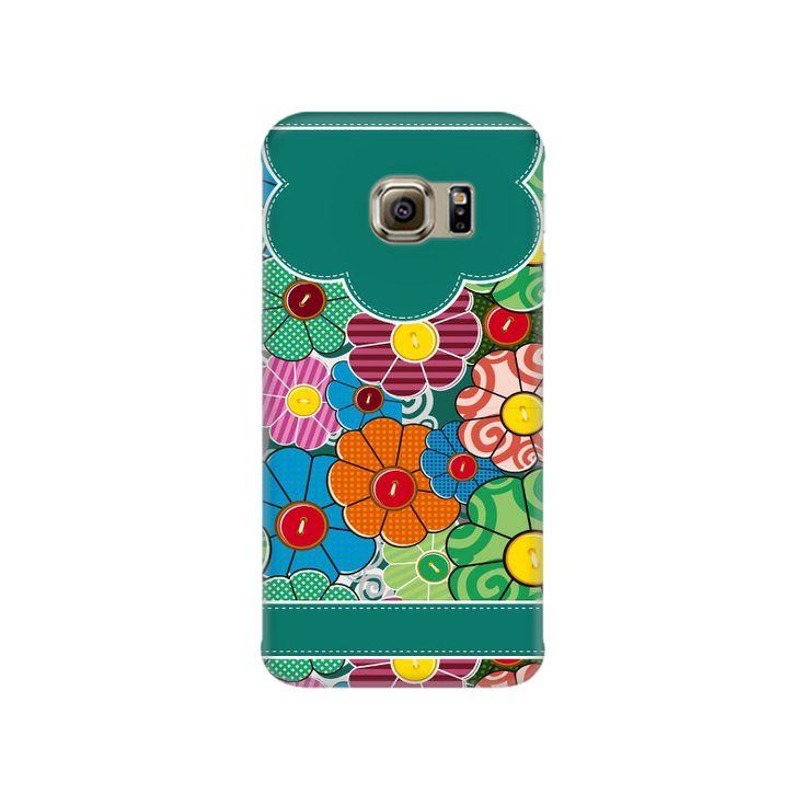 Flower Botton Samsung S7 Mobile Case - ₹449.00 INR