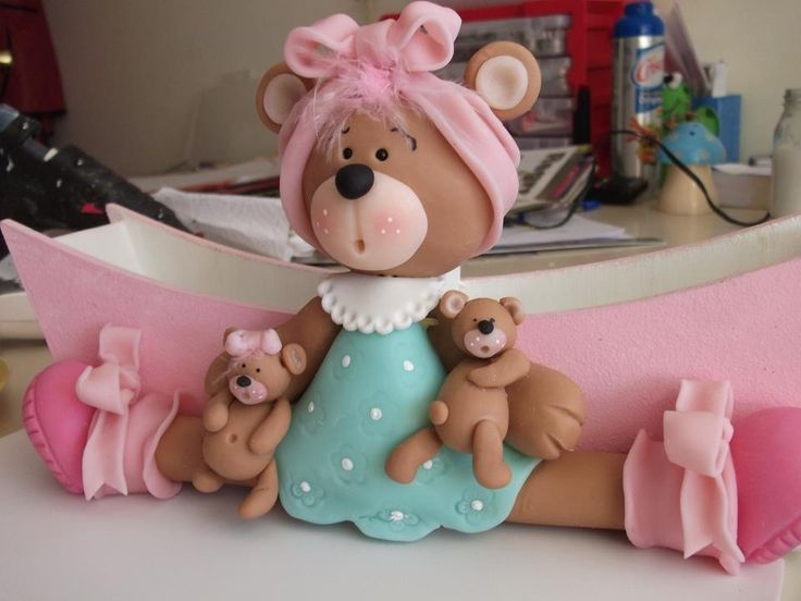 Gina garosi porcelana fria polymer clay pasta francesa masa flexible fimo topper figurine modelado modelling
