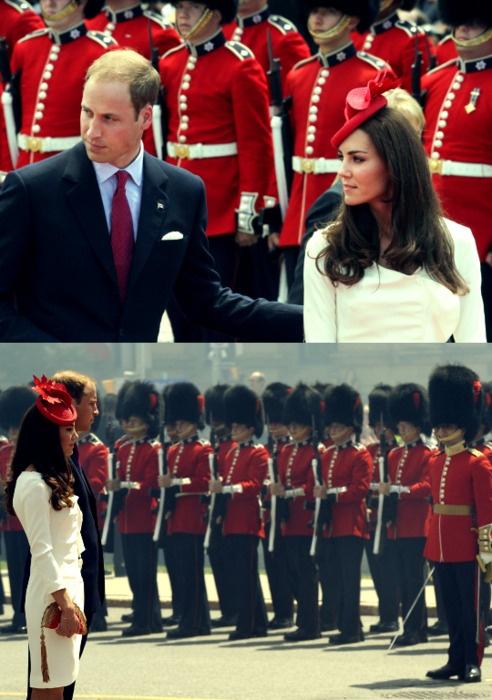 on Canada Day #katemiddleton #princewilliam