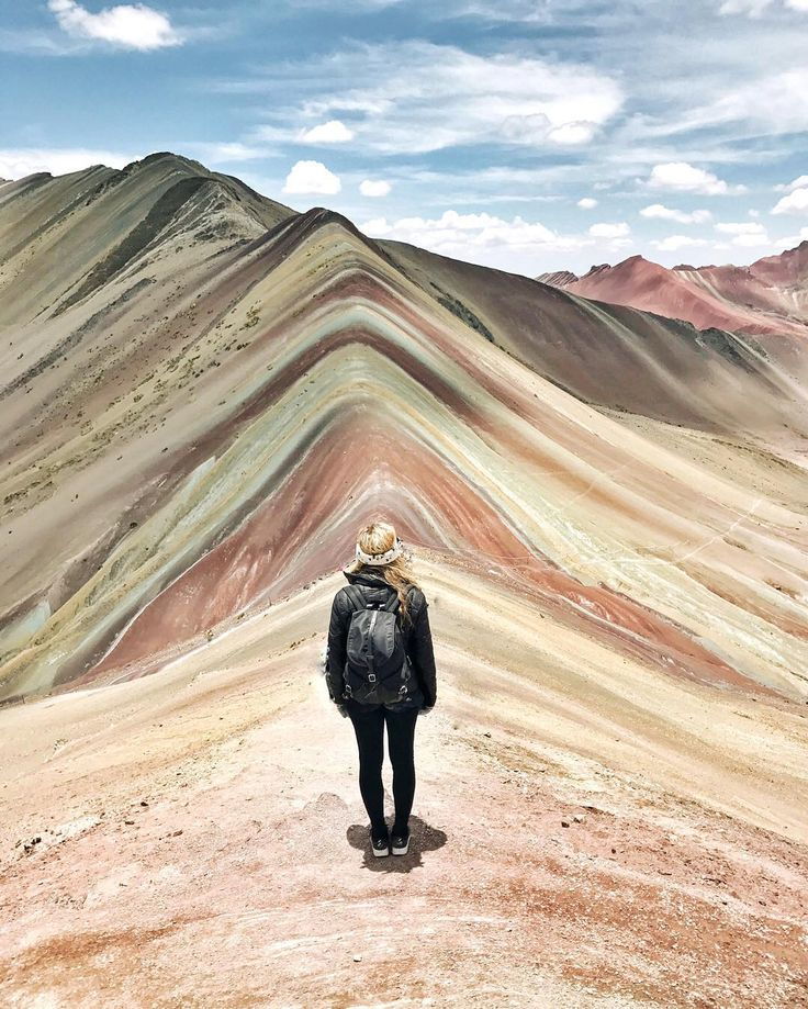 The Rainbow Mountains outside of Cusco, Peru - via Live Like it's the Weekend on Instagram