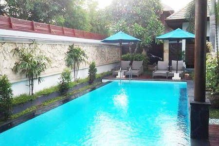 Check out this awesome listing on Airbnb: Stylish Villa in central Seminyak in Kabupaten Badung