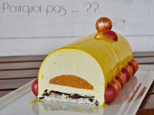 Pourquoi pas .... ??: Buche passion / coco / citron - sans lactose