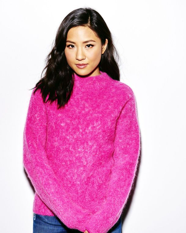 Constance Wu - pink